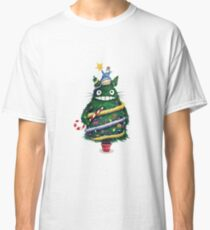 Christmas tree Totoro Classic T-Shirt