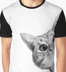 sneaky cat Graphic T-Shirt