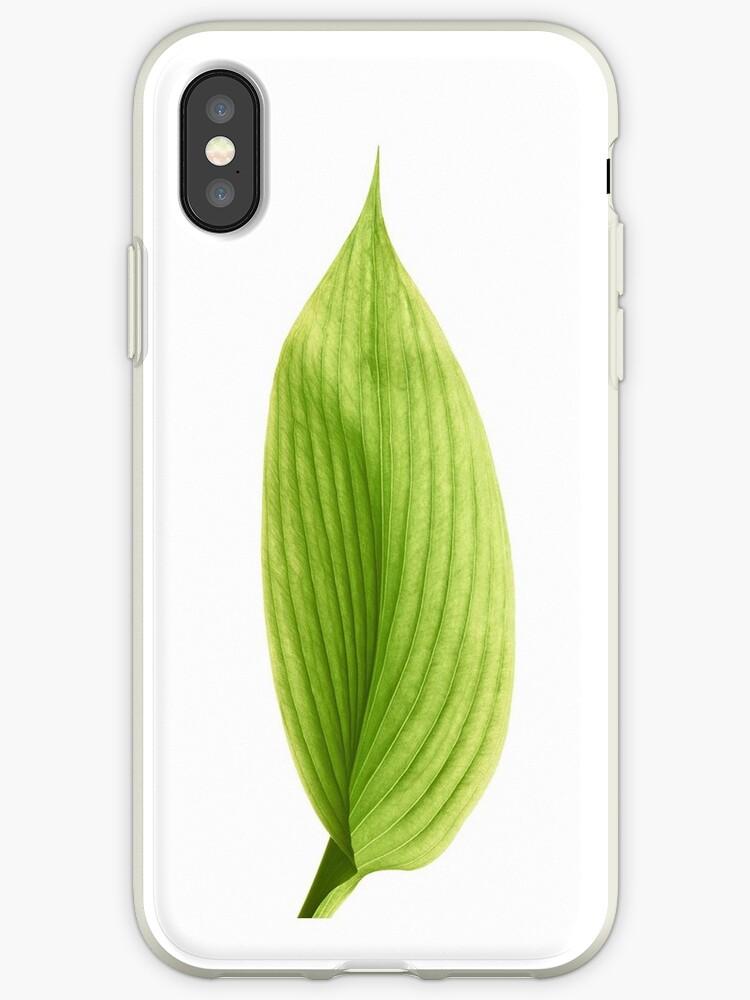 iphone xs case leaf