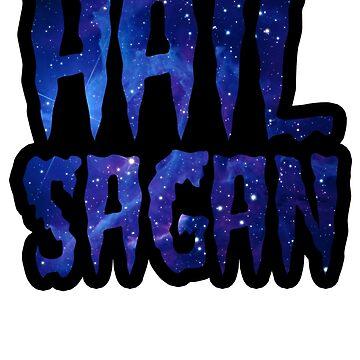 Hail Sagan - Carl Sagan Galaxy  by whimsicalmuse