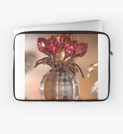 Crystal Flowers Laptop Sleeve
