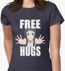 Sword Art Online - Yui - Free Hugs  Womens Fitted T-Shirt