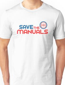 Save The Manuals (1) Unisex T-Shirt