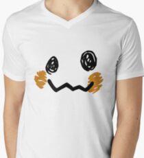 Mimikyu Face - Pokemon Men's V-Neck T-Shirt