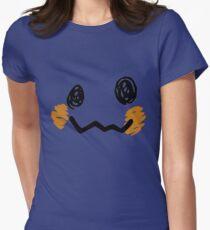 Mimikyu Face - Pokemon Womens Fitted T-Shirt