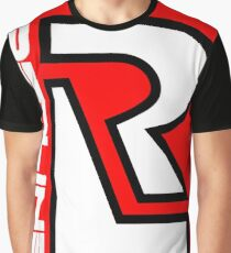 80's Redline R Design Graphic T-Shirt