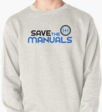 Save The Manuals (3) Pullover