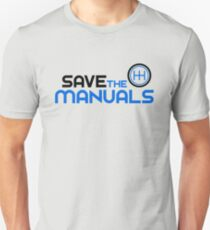Save The Manuals (3) Unisex T-Shirt