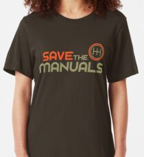 Camiseta ajustada Guarde los Manuales (4)