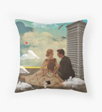 Vintage Modern Collection -- All Eyes On Me Throw Pillow
