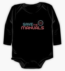 Save The Manuals (6) One Piece - Long Sleeve