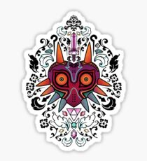 Majora's Damask Sticker