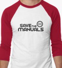Save The Manuals (7) Men's Baseball ¾ T-Shirt