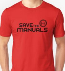 Save The Manuals (7) Unisex T-Shirt
