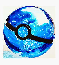 Water great Pokeball Photographic Print