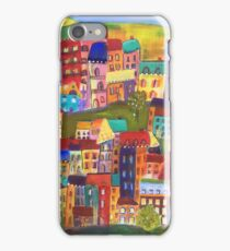 Quirky Village iPhone Case/Skin