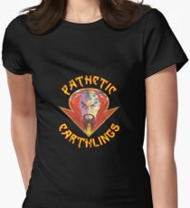 Ming the Merciless - Pathetic Earthlings Distressed Variant Womens Fitted T-Shirt