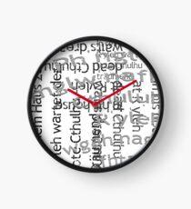Call of Cthulhu Clock