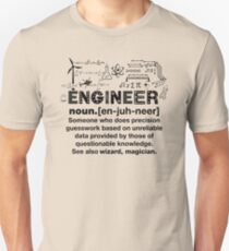 Funny Definition Of An Engineer Slim Fit T-Shirt