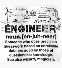 Funny Engineer Sayings Posters Redbubble