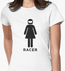 Woman Racer (3) T-Shirt