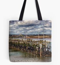 The End Of The Jetty Tote Bag