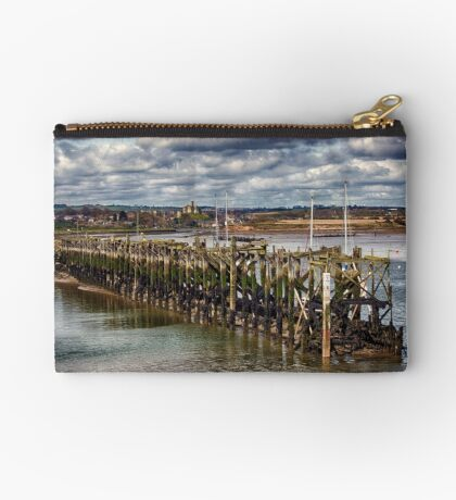 The End Of The Jetty Zipper Pouch