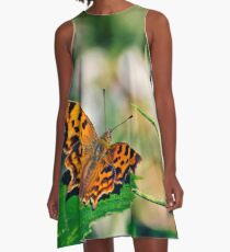 Comma Butterfly A-Line Dress