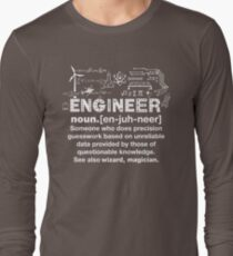 Engineer Humor Definition Long Sleeve T-Shirt