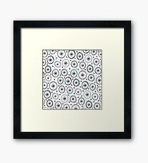 Cosmic Eyes Series Framed Print
