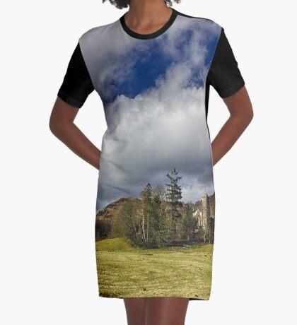 Belief in Solitude Graphic T-Shirt Dress