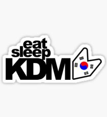 Eat Sleep KDM (2) Sticker