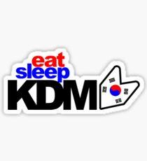Eat Sleep KDM (3) Sticker