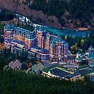 Banff Springs Hotel by John Poon