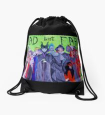 Bad but Fab Drawstring Bag