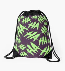 Acid Laugh Drawstring Bag