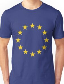 EU flag Unisex T-Shirt