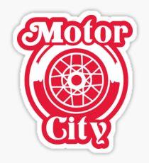 Motor City Hockey Sticker