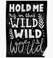 HOLD ME IN THIS WILD WILD WORLD Poster