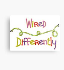 Wired Differently Metal Print
