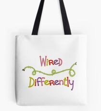 Wired Differently Tote Bag