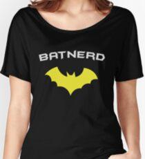 BATNERD - Super Hero Nerd Geek  Women's Relaxed Fit T-Shirt