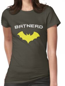 BATNERD - Super Hero Nerd Geek  Womens Fitted T-Shirt