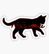 Pegatina Nekoma Cat (Haikyuu)