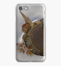 St Columb's Cathedral from Derry's Walls at Church Bastion, Derry iPhone Case/Skin