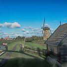 Dutch Clouds at Kinderdijk Nederlands (UNESCO Site) by Imagery