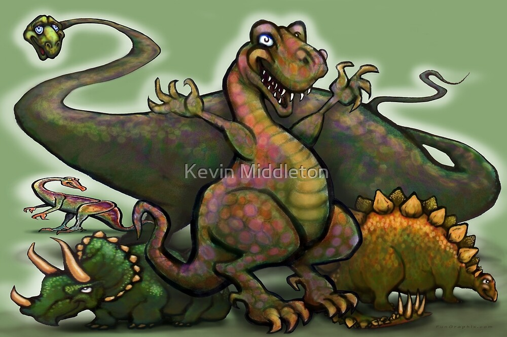 Dinosaurs by Kevin Middleton