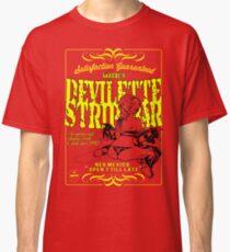Anime Devil Strip Bar Classic T-Shirt