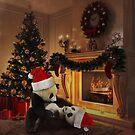 Weihnachten mit Panda von kijkopdeklok