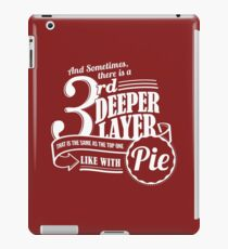 Dr. Horrible's Pie Quote iPad Case/Skin